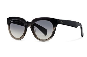 Tod's TO0117 Sunglasses - Grey Frame Color, Gradient Smoke Lens Color