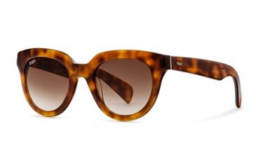 Tod's TO0117 Sunglasses - Havana Frame Color, Gradient Brown Lens Color