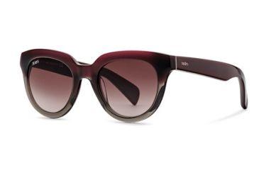 Tod's TO0117 Sunglasses - Shiny Light Blue Frame Color, Gradient Lens Color