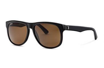 Tod's TO0125 Sunglasses - Shiny Black Frame Color, Roviex Lens Color