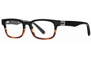 Tod's TO5024 Eyeglass Frames - Black Frame Color