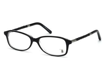 Tod's TO5054 Eyeglass Frames - Black Frame Color