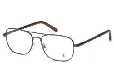 Tod's TO5061 Eyeglass Frames - Matte Gun Metal Frame Color