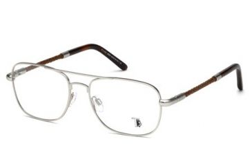 Tod's TO5061 Eyeglass Frames - Matte Palladium Frame Color