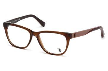Tod's TO5087 Eyeglass Frames - Matte Light Brown Frame Color