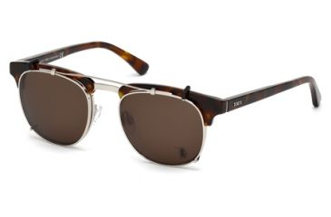 Tod's TO5091 Eyeglass Frames - Dark Havana Frame Color
