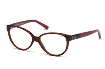 Tod's TO5100 Eyeglass Frames - Havana Frame Color