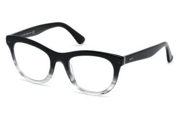 Tod's TO5112 Eyeglass Frames - Black Frame Color