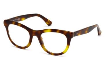 Tod's TO5112 Eyeglass Frames - Dark Havana Frame Color