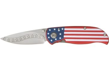 Tom Anderson Stars and Stripes Fold Knife M3643