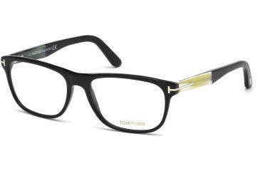 fb7b46de61c Tom Ford FT5430 Eyeglass Frames - Shiny Black Frame Color