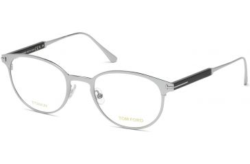 2d5de55502 Tom Ford FT5482 Eyeglass Frames - Shiny Rhodium Frame Color