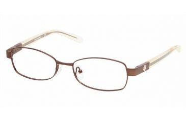 afe3a0e89ebc Tory Burch TY1011 Bifocal Eyeglasses - Brown Frame / 50 mm Prescription  Lenses, 104-
