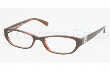 Tory Burch TY2009 Progressive Eyeglasses Putty/Bronze Frame / 50 mm Prescription Lenses, 513-5018