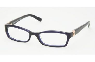 Tory Burch TY 2010 Eyeglasses Styles Navy Frame w/Non-Rx 49 mm Diameter Lenses, 511-4916