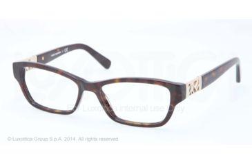 Tory Burch TY 2039 TY2039 Progressive Prescription Eyeglasses 510-51 - Dk Tortoise Frame
