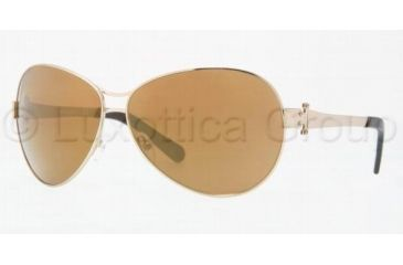 Tory Burch TORY E03 TY6005 Progressive Prescription Sunglasses TY6005-101-97-6311 - Frame Color: Gold, Lens Diameter: 63 mm