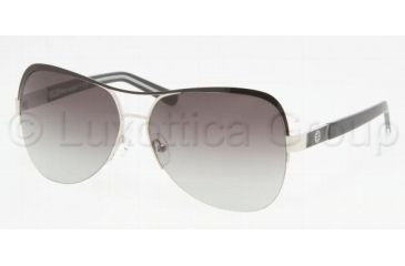 Tory Burch TY6008 Bifocal Prescription Sunglasses TY6008-285-11-5713 - Frame Color: Silver / Black, Lens Diameter: 57 mm