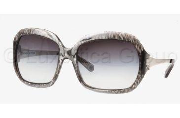Tory Burch TY 7009 Sunglasses Styles Black Screen Frame / Gray Gradient Lenses, 508-11-5918