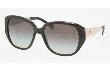 Tory Burch TY 7014 Sunglasses Styles Black Frame / Grey Gradient Lenses, 501-11-5716