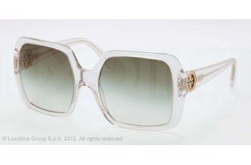 Tory Burch TY 7058 TY7058 Bifocal Prescription Sunglasses TY7058-591-8E-55 - Lens Diameter 55 mm, Frame Color Clear