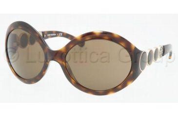 Tory Burch Tory E01 TY9002 Progressive Prescription Sunglasses TY9002-510-73-6119 - Frame Color: Tortoise, Lens Diameter: 61 mm