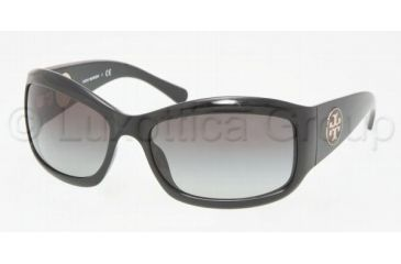 Tory Burch TY9004 Single Vision Prescription Sunglasses TY9004-501-11-6017 - Frame Color: Black, Lens Diameter: 60 mm