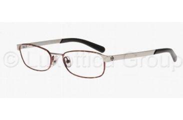Tory Burch TY1013 Progressive Prescription Eyeglasses 114-4917 - Tortoise Silver