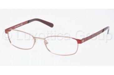 00f2aaf5381 Tory Burch TY1013 TY1013 Eyeglass Frames 346 -4917 - Burgundy Pink