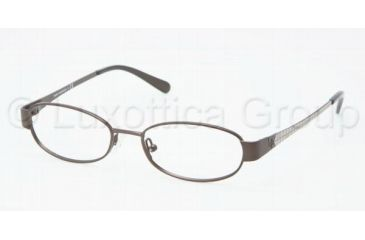 Tory Burch TY1029 Progressive Prescription Eyeglasses 415-4916 - Brown Frame, Demo Lens Lenses