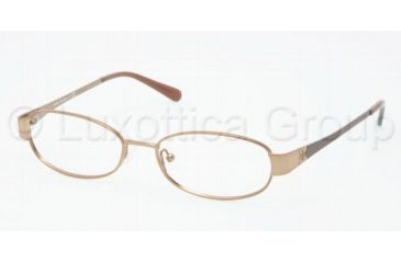 Tory Burch TY1029 Progressive Prescription Eyeglasses 416-4916 - Taupe Frame, Demo Lens Lenses