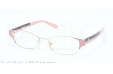 Tory Burch TY1037 Progressive Prescription Eyeglasses 3001-50 - Soft Pink Gold Frame