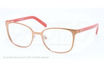 Tory Burch TY1039 Bifocal Prescription Eyeglasses 3036-50 - Brushed Light Brown Frame