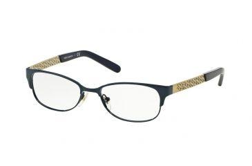 21f9d3d1603c Tory Burch TY1047 Bifocal Prescription Eyeglasses 3058-49 - Navy Gold Frame