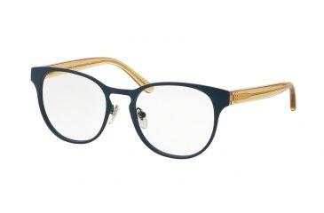 537e9d8c4161 Tory Burch TY1048 Bifocal Prescription Eyeglasses 3147-51 - Matte  Blue/pinot Frame