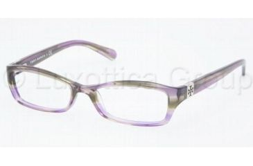 Tory Burch Ty2010 Eyeglass Frames TY2010 745-4916 - Purple Tortoise