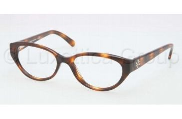 Tory Burch TY2021 TY2021 Bifocal Prescription Eyeglasses 849-5016 - Tortoise Frame, Demo Lenses