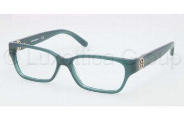 Tory Burch TY2025 TY2025 Eyeglass Frames 1081-5114 - Dark Turquoise Frame, Demo Lens Lenses