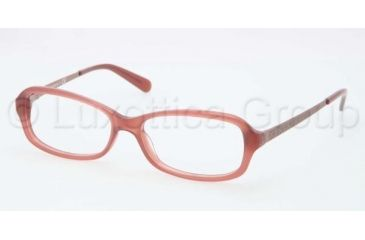 Tory Burch TY2029 TY2029 Single Vision Prescription Eyeglasses 1053-5315 - Dusty Rose Frame, Demo Lens Lenses
