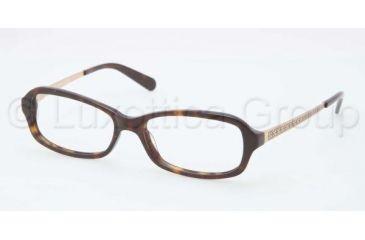 Tory Burch TY2029 TY2029 Single Vision Prescription Eyeglasses 510-5315 - Dark Tortoise Frame