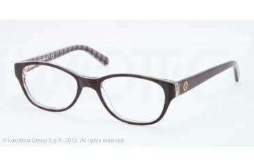 Tory Burch TY2031 Eyeglass Frames 1043-49 - Tortoise Frame, Demo Lens Lenses