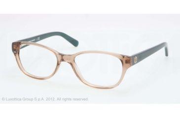 Tory Burch TY2031 Eyeglass Frames 1164-49 - Khaki Teal Frame, Demo Lens Lenses