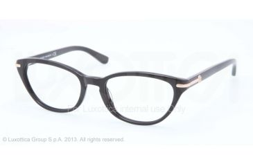 500dd5566bb0 Tory Burch TY2034 Single Vision Prescription Eyeglasses 501-50 - Black Frame