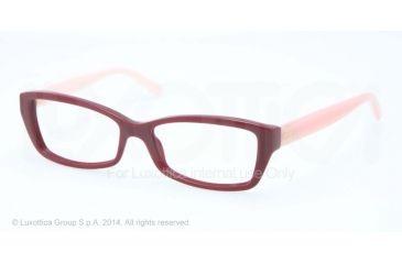 Tory Burch TY2041 Progressive Prescription Eyeglasses 1285-51 - Burgundy Blush Frame