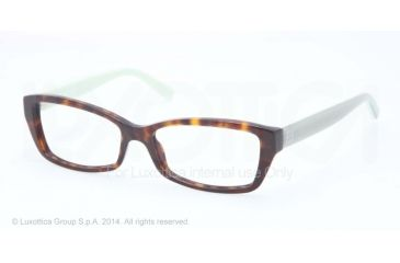 Tory Burch TY2041 Progressive Prescription Eyeglasses 1286-51 - Tortoise Mint Frame