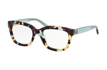 387c65aabe9e Tory Burch TY2047 Progressive Prescription Eyeglasses 1329-50 - Blue  Tortoise Geyser Frame