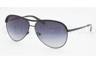 Tory Burch TY6015B Single Vision Prescription Sunglasses TY6015B-107-11-5912 - Frame Color: Black, Lens Diameter: 59 mm