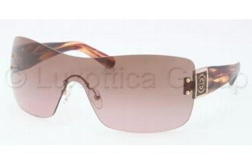Tory Burch TY6018 TY6018 Sunglasses 913/14-0137 - Pink Marble Frame, Brown Rose Lenses