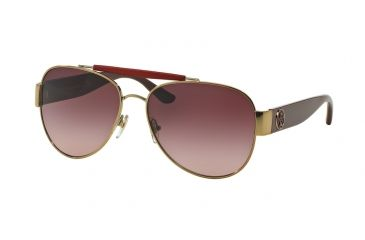 94add452dd Tory Burch TY6043Q Sunglasses 31138H-58 - Gold bordeaux Frame