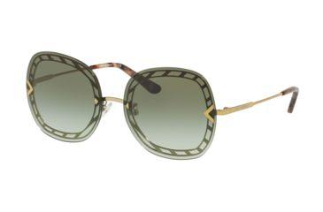 41d38a8c58cd Tory Burch TY6068 Sunglasses 31608E-58 - Gold Frame, Green Gradient Lenses